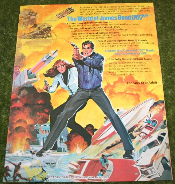 007 Role playing game leaflet (3)