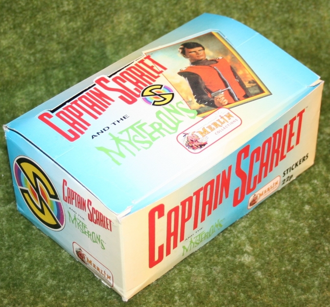 captain scarlet empty merlin sticker display box (2)