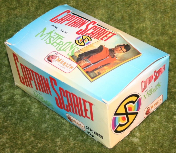 captain scarlet empty merlin sticker display box (3)