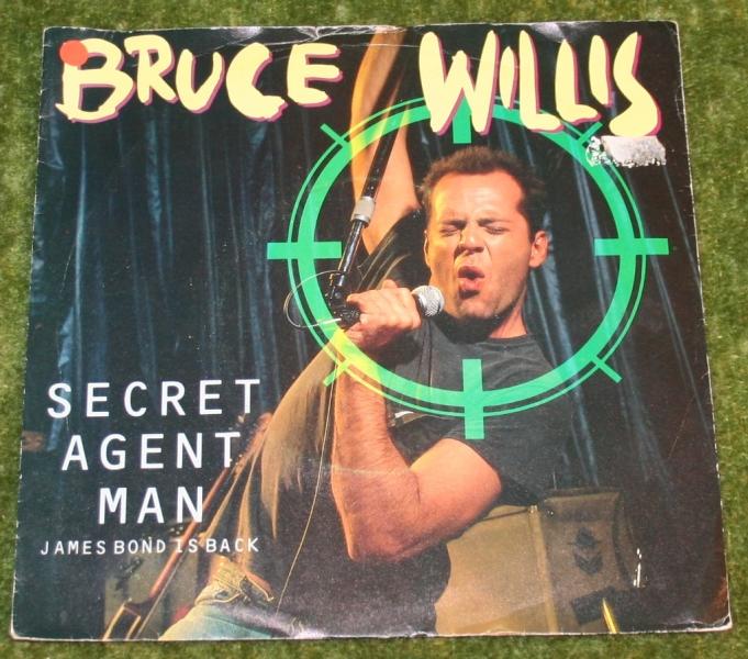 Secret agent man Bruce willis