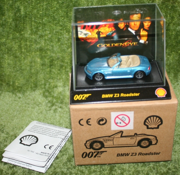 Shell 007 car set (2)