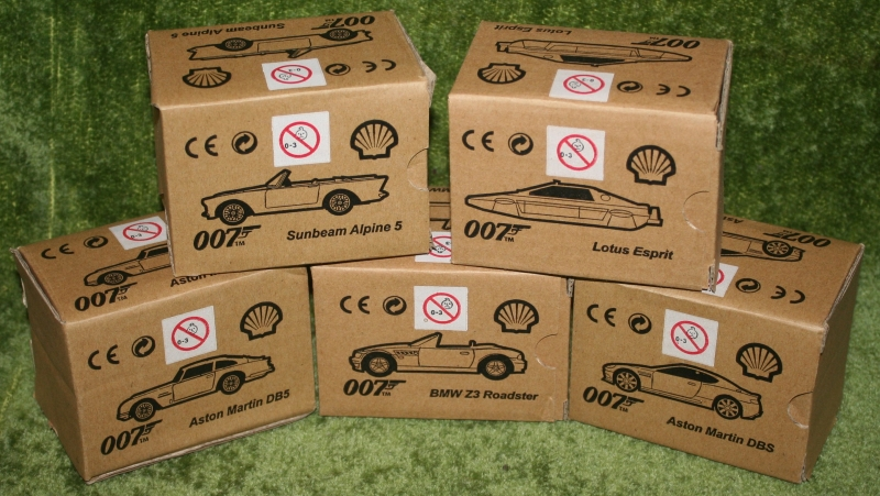 Shell 007 car set (7)