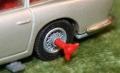 007 corgi Aston New silver Tyre slashers (11)