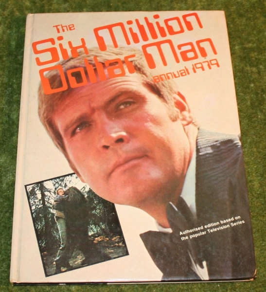 six million dollar man annual 1979