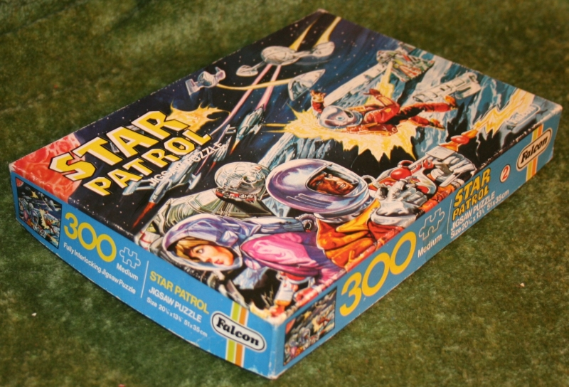 Star Patrol jigsaw UFO style artwork (4)