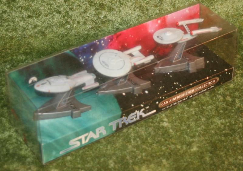 Star trek car air fresheners set (2)
