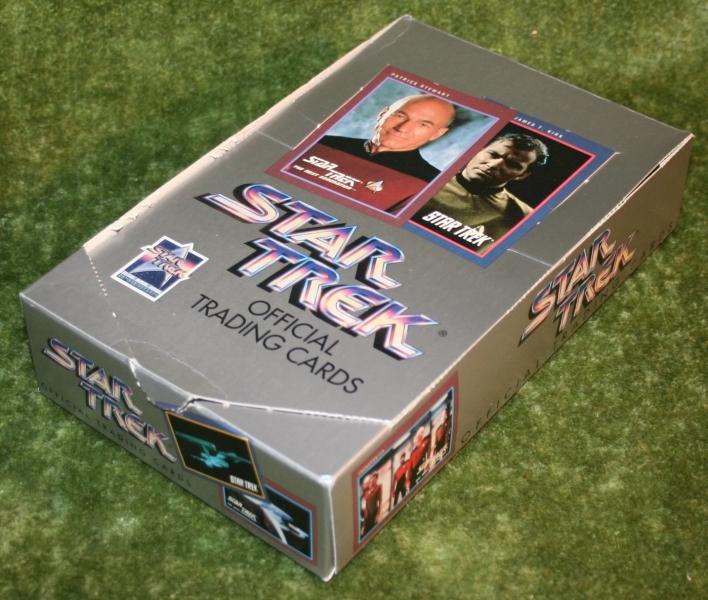 Star Trek Impel set 1 trading card display box (2)