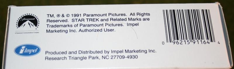 Star Trek Impel set 1 trading card display box (3)