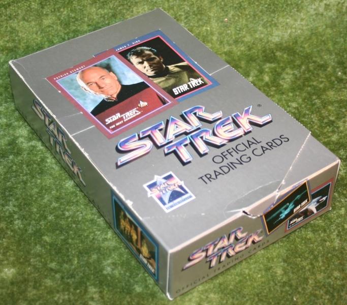 Star Trek Impel set 1 trading card display box