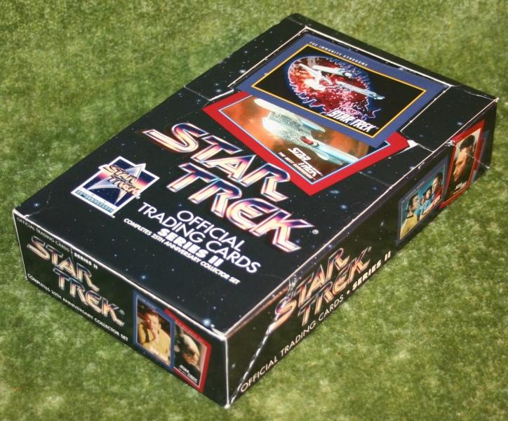 Star Trek Impel set 2 trading card display box (3)