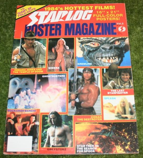 starlog poster magazine vol 3