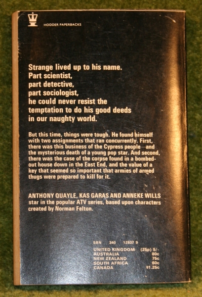 Strange Report Paperback   Little Storping Museum