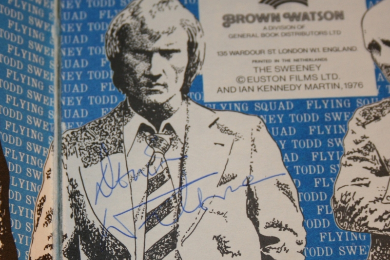 sweeney annual dennis waterman autograph