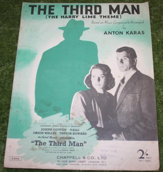 Third man sheet music