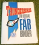 Thunderbirds 1990's Card binder