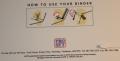 Thunderbirds 1990's Card binder  (3)