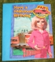 thunderbirds lady penelope birthday card 1990's (2)