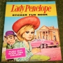 Thunderbirds Lady Penelope sticker fun book