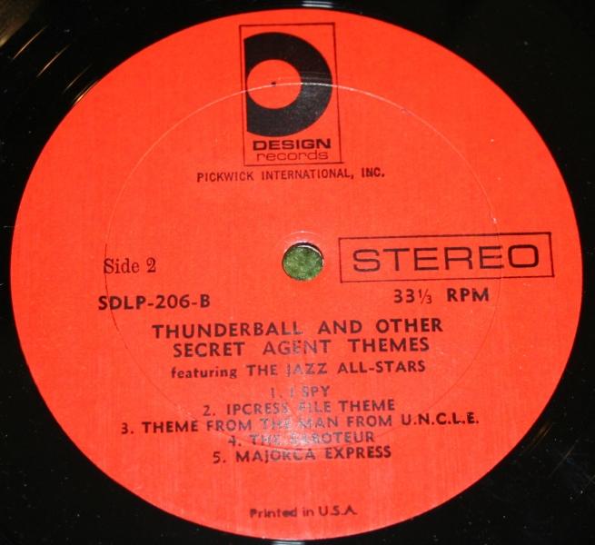 Thunderball MFU and others USA LP (4)