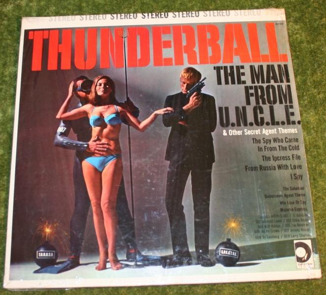 Thunderball MFU and others USA LP