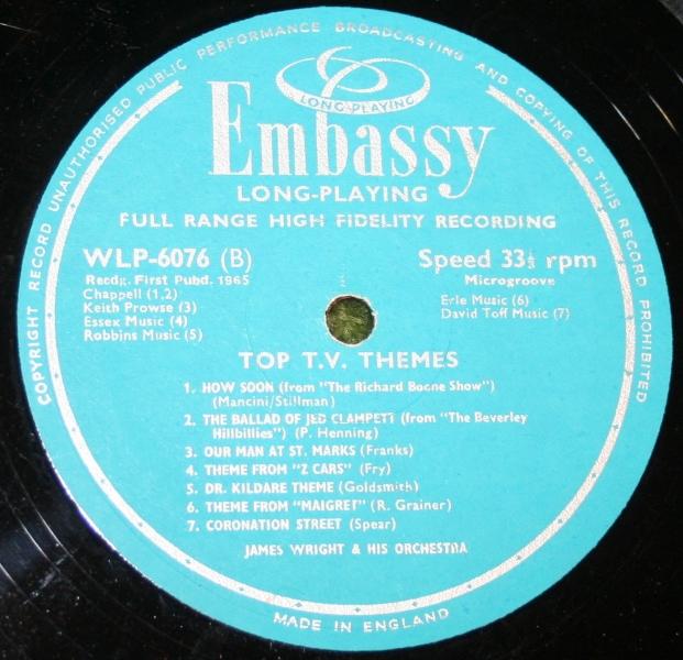Top TV Themes Embassy LP (4)
