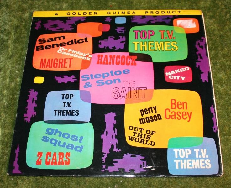 Top TV themes Golden guine LP (2)