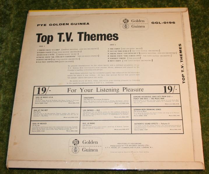 Top TV themes Golden guine LP (3)