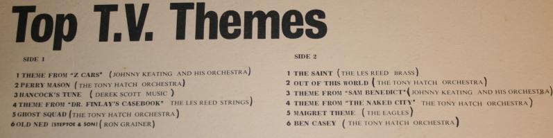 Top TV themes Golden guine LP (4)