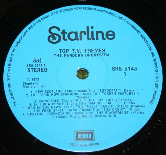 Top TV Themes Starline LP (4)