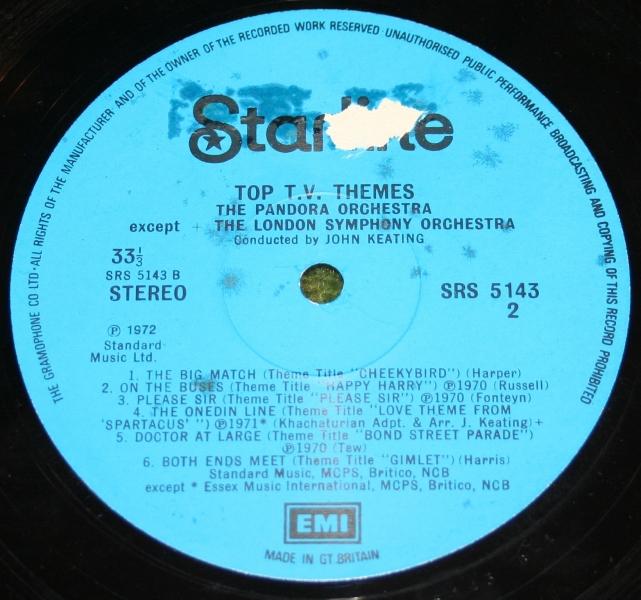 Top TV Themes Starline LP (5)