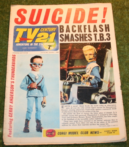 TV Century 21 comic No 89 (2)