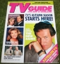 TV Guide Sept 2nd 1989 autographed simon dutton