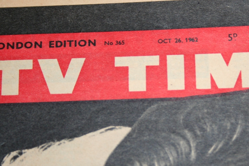 tv times 1962 oct 26 avengers cover (4)