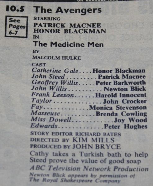 tv times 1963 nov 17-23