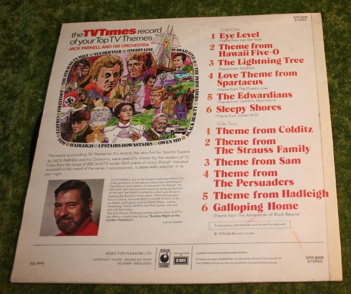 TV Times Top TV themes Lp (3)