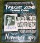 twilight zone trading cards leaflet