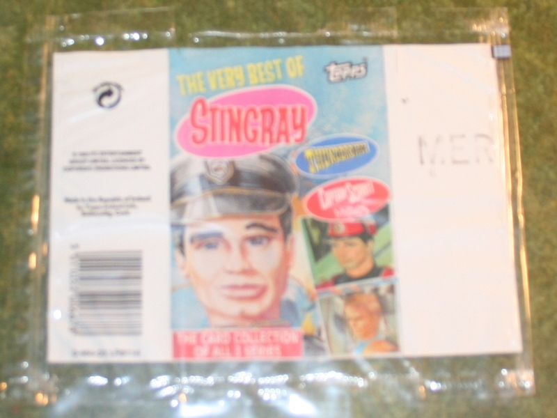Very Best of Sting Tbirds Capt Scar Topps card set (2)