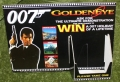 007 Win a Goldeneye holiday display stand