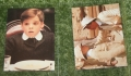 Young Indiana Jones card set (3)