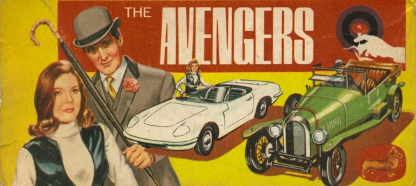 The Avengers Gift Set Gs 40 Corgi Toys 1966 Little