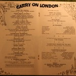 Carry on theatre programme (3)