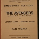 Avengers Theatre programme 1