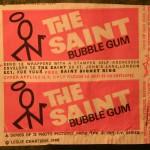 Saint gum cards