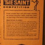 Saint gum cards (4)