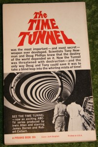 Time Tunnel 1st  paperback  (2)