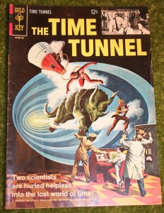 Time Tunnel USA comic book dino cover