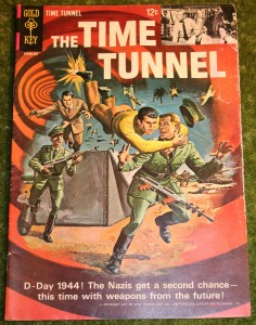 Time Tunnel comic conq
