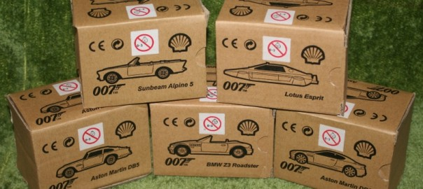 Shell Promotional Bond Cars Little Storping Museum
