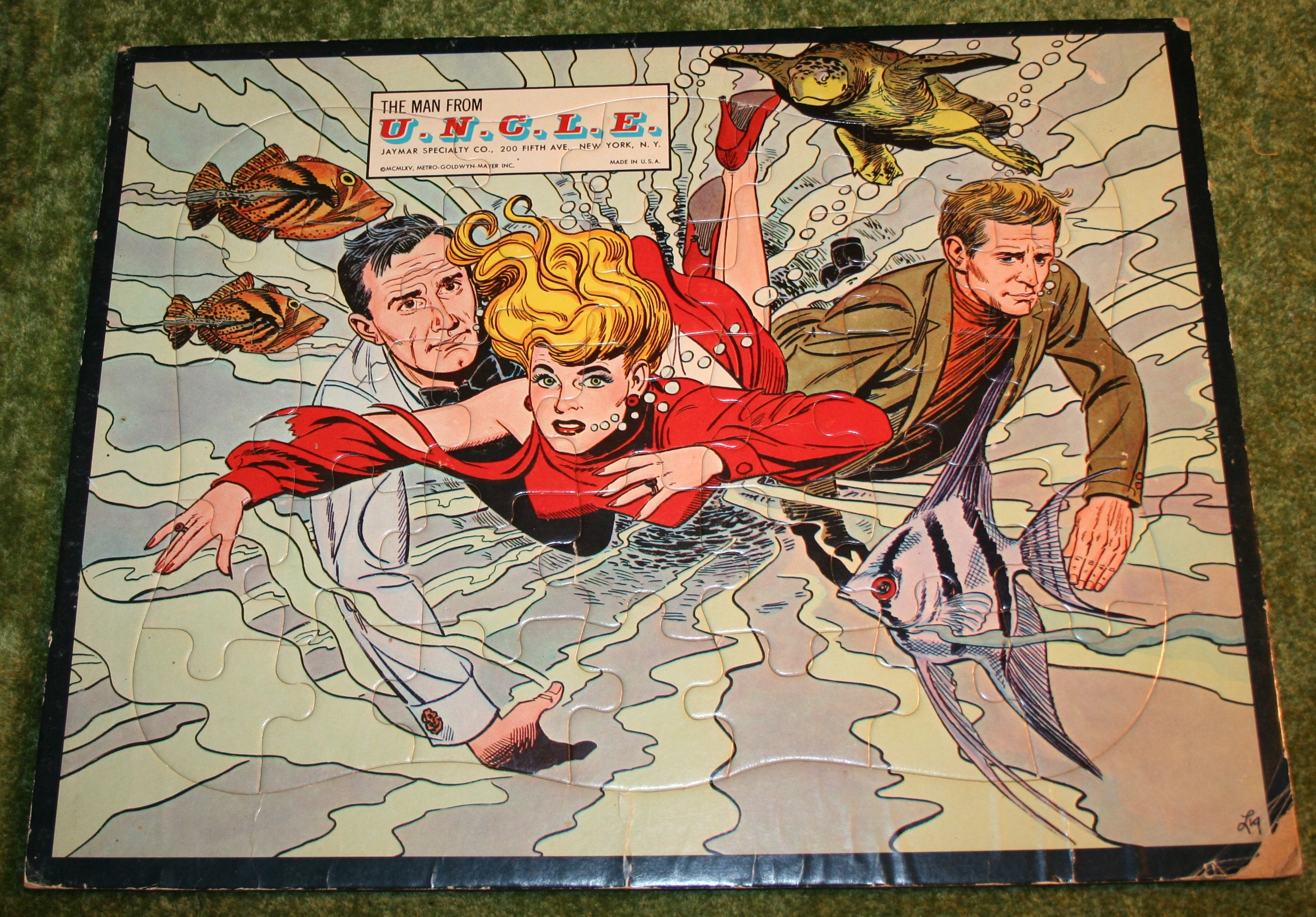 U.N.C.L.E. Frame Tray Puzzle (Swimming)