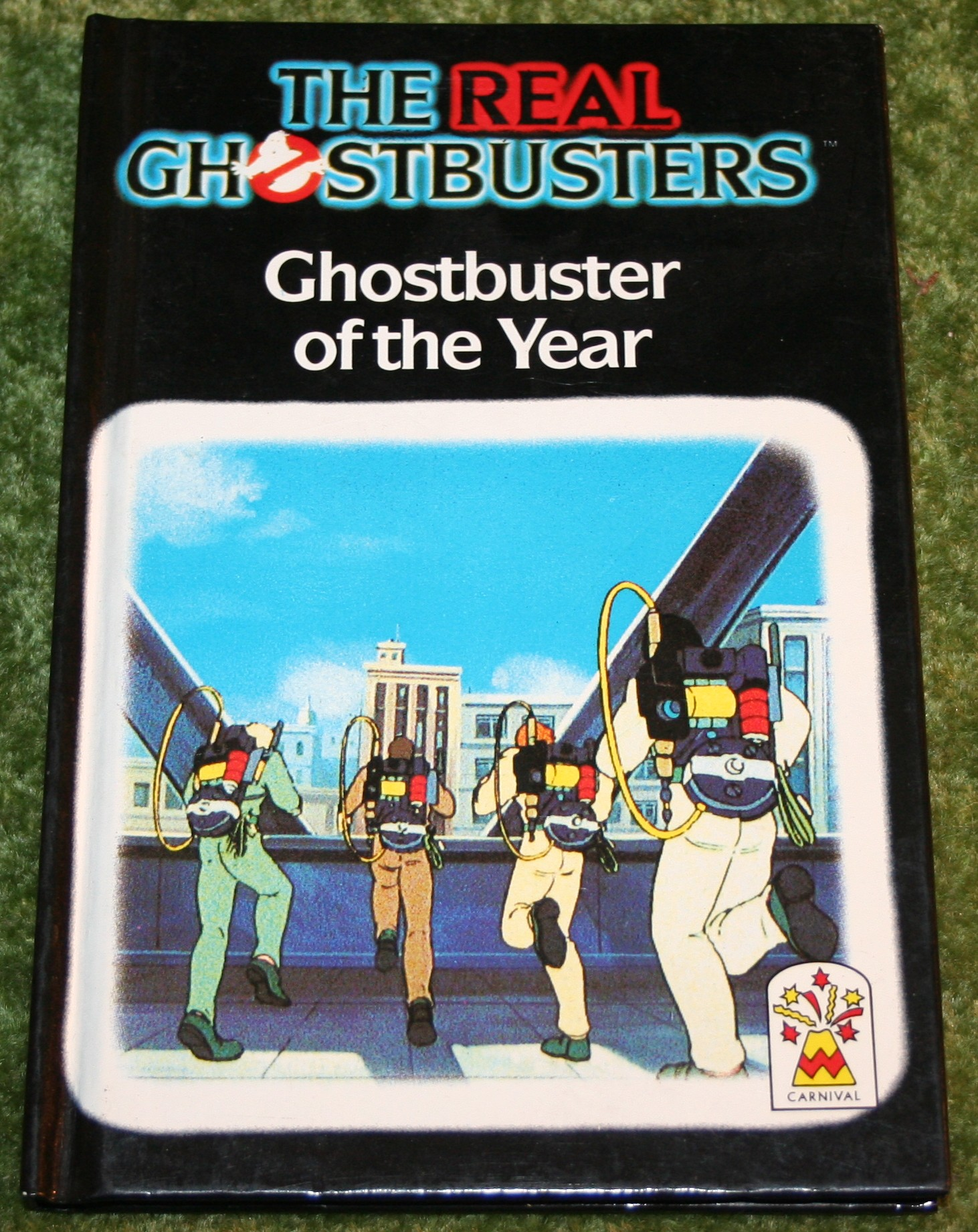 Ghostbuster of the year book